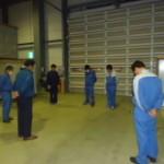 東日本大震災から2年・・・新柏倉庫では